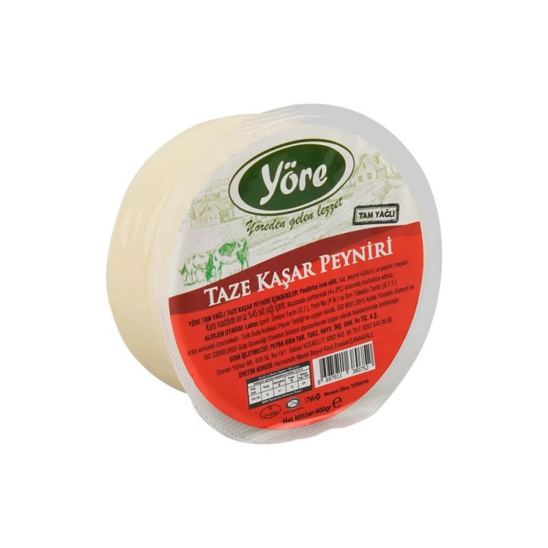 Yöre Taze Kaşar Peyniri 400 gr ürünü