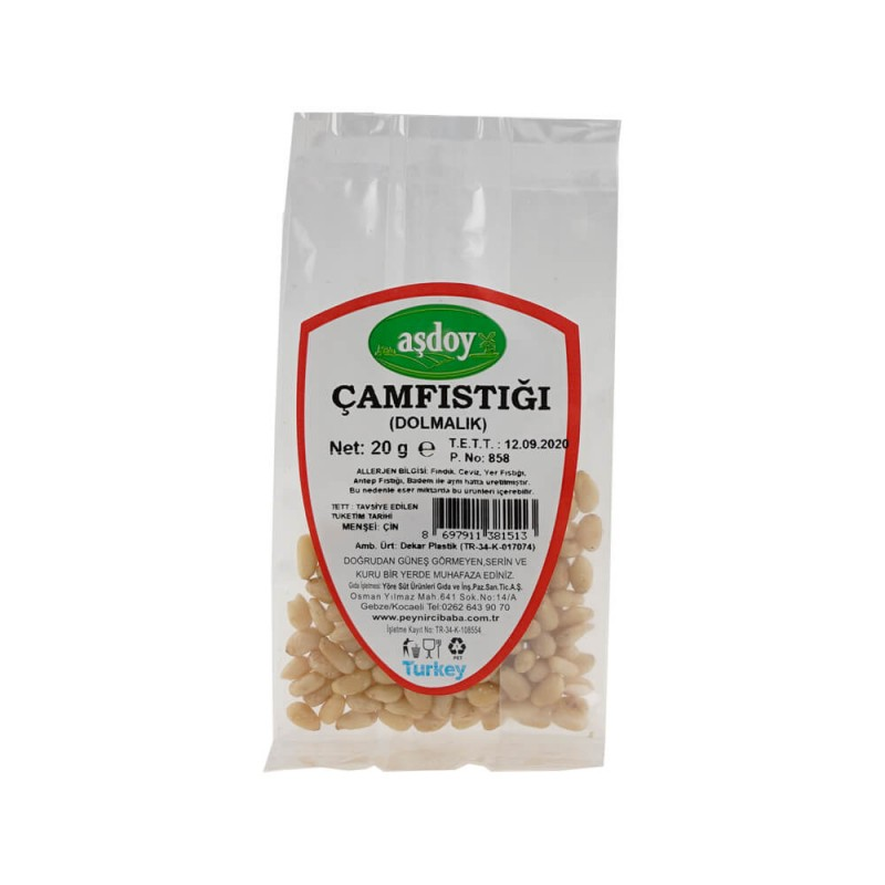 Aşdoy Çam Fıstık 20 gr ürünü