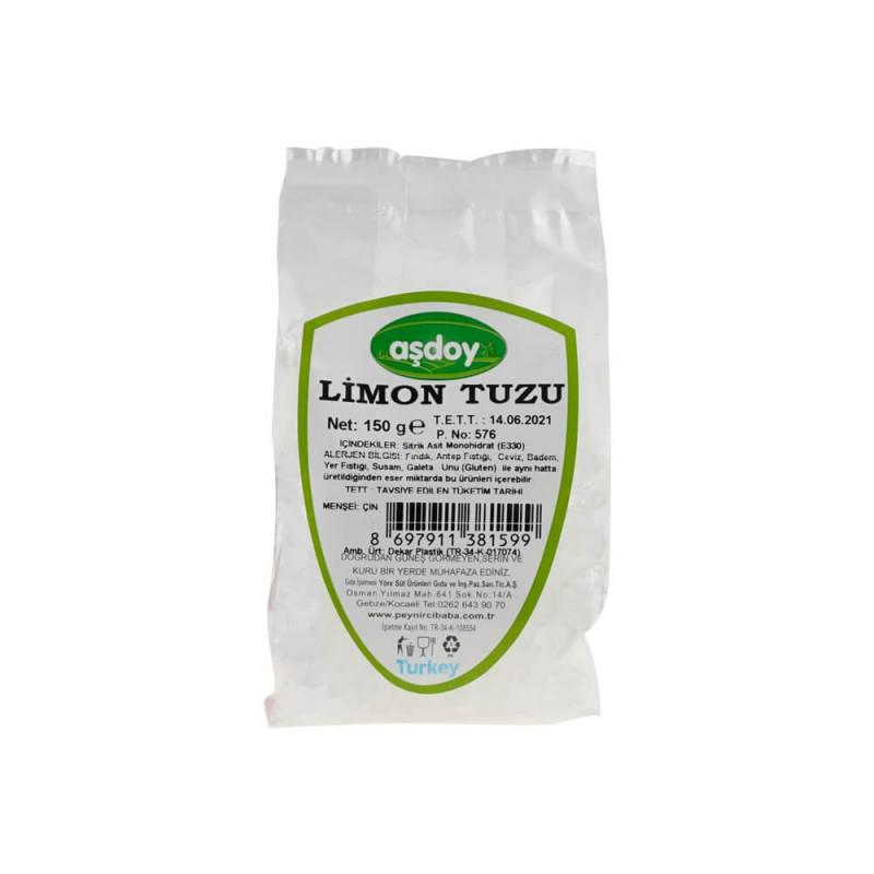 Aşdoy Limon Tuzu 150 gr ürünü