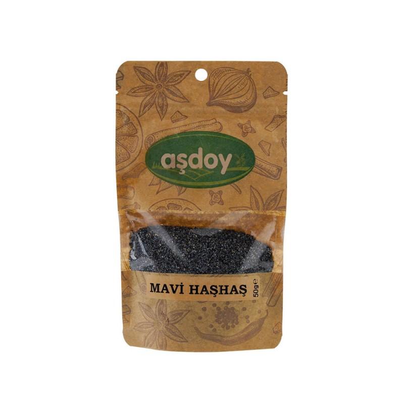 Aşdoy Mavi Haşhaş 50 gr ürünü