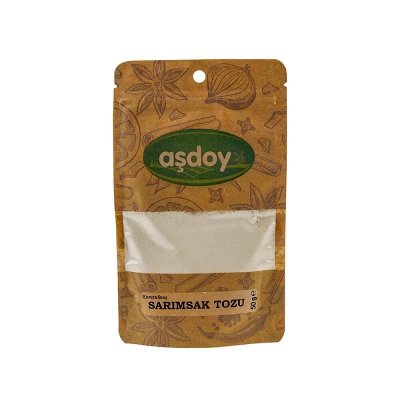 Aşdoy Sarımsak Tozu 50 gr ürünü