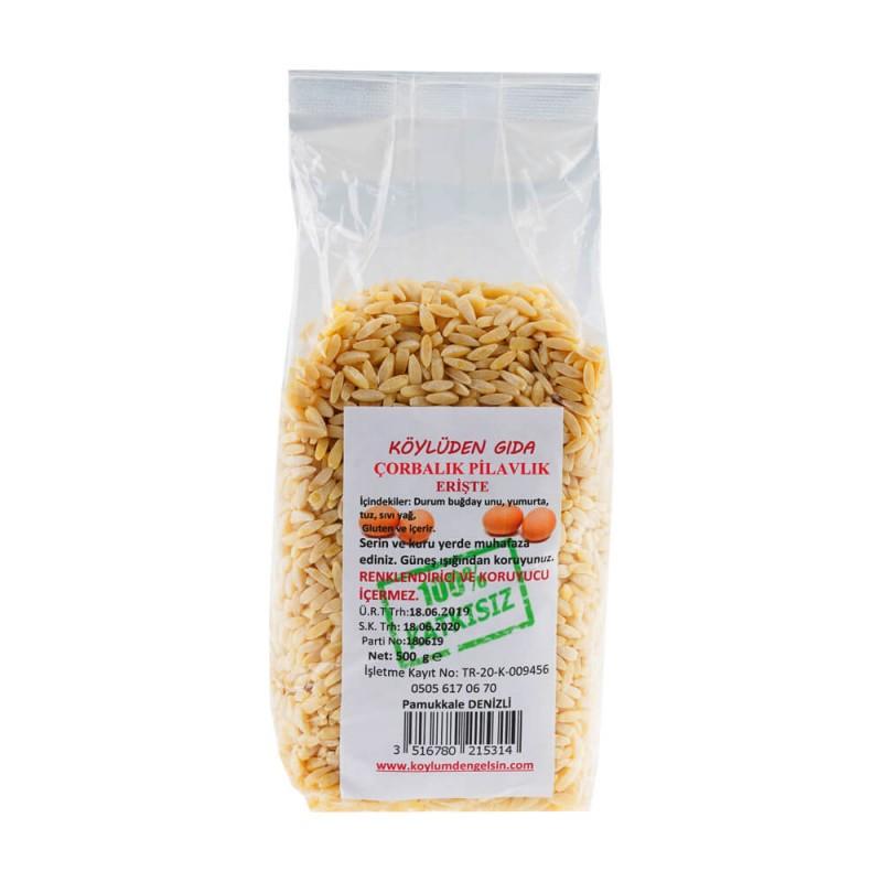 Neşeli Çorbalık Pilavlık Erişte 500 gr ürünü