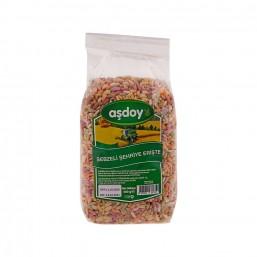Aşdoy Sebzeli Çorbalık Pilavlık Erişte 500 gr