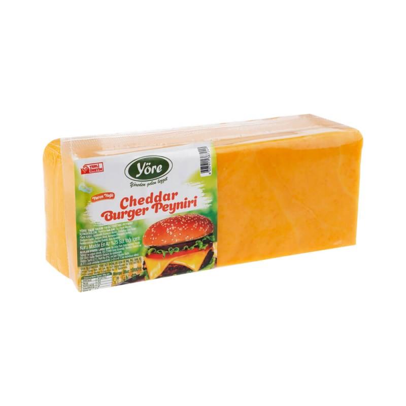 Yöre Cheddar Burger Peyniri 1000 gr ürünü