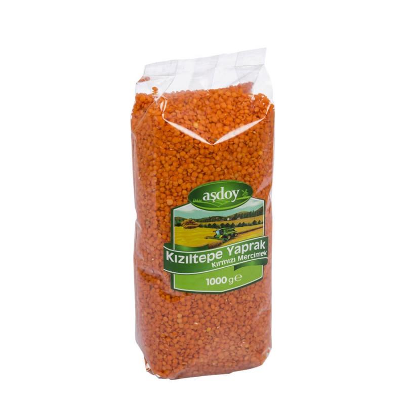 Aşdoy Kızıltepe Kırmızı Mercimek 1 kg ürünü