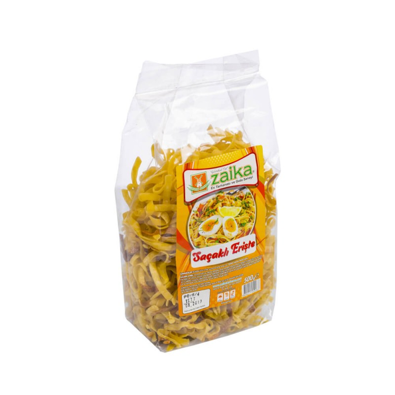 Zaika Saçaklı Erişte 500 gr ürünü