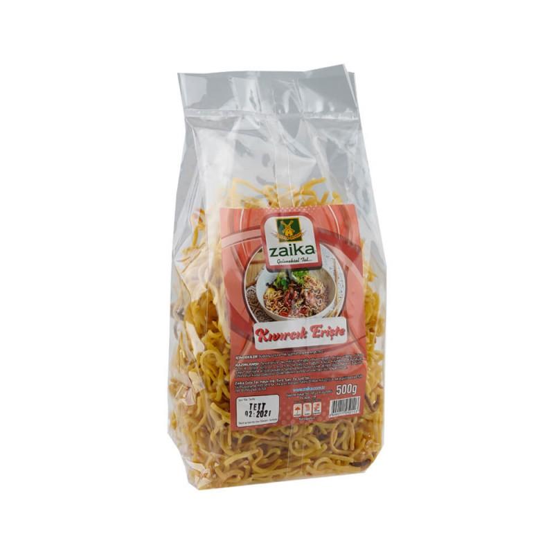 Zaika Kıvırcık Erişte 500 gr ürünü