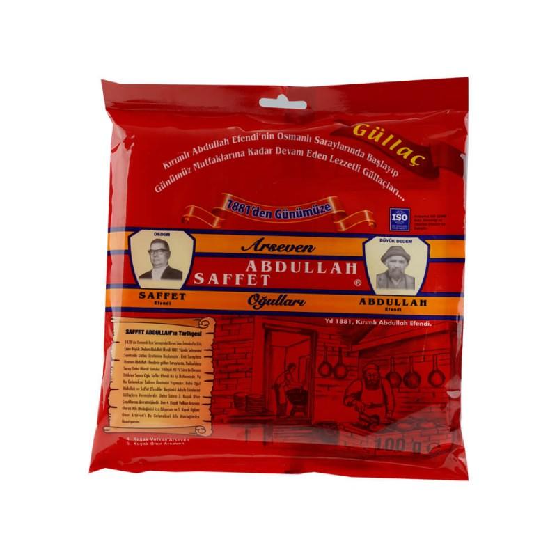 Abdullah Saffet Güllaç 100 gr ürünü