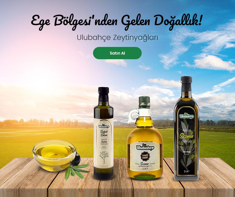Ulubahçe Naturel Sızma Zeytinyağı 500 ml Kulplu Şişe
