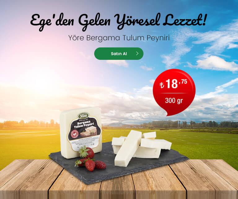 Yöre Bergama Tulum Peyniri