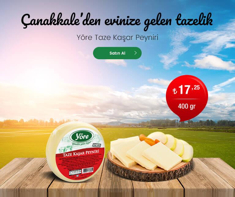Yöre Taze Kaşar Peyniri 400 gr