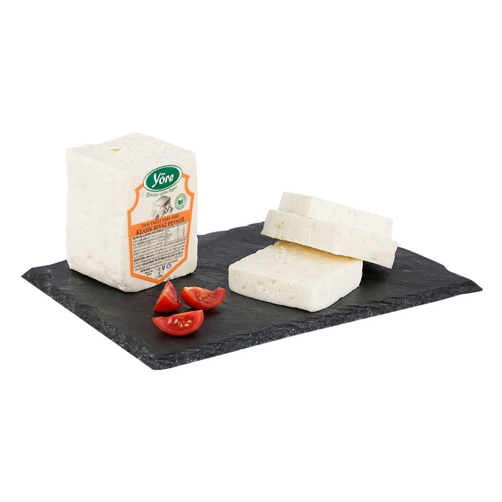 Yöre Çanakkale Klasik Tam Yağlı Orta Sert İnek Beyaz Peynir ürünü