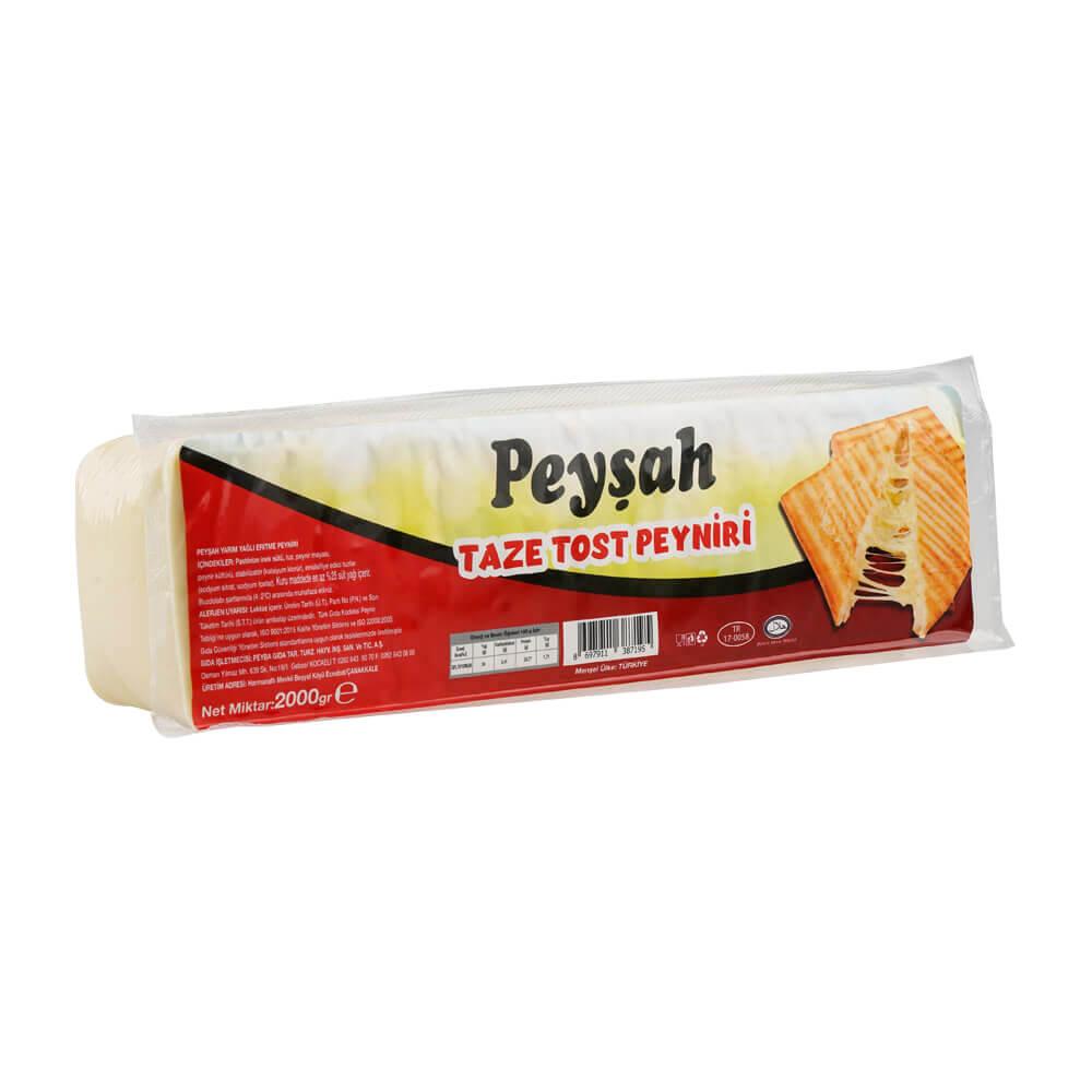 Peyşah Taze Tost Peyniri ürünü