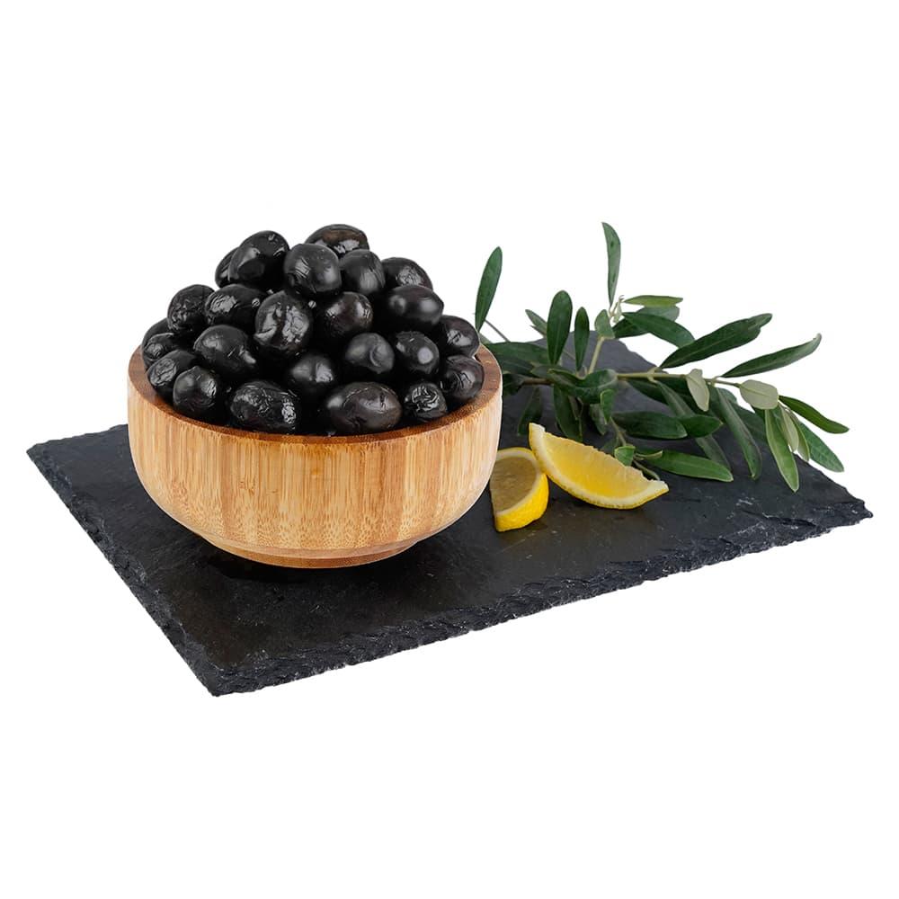 Yöre Sofralık Az Tuzlu Siyah Zeytin ürünü