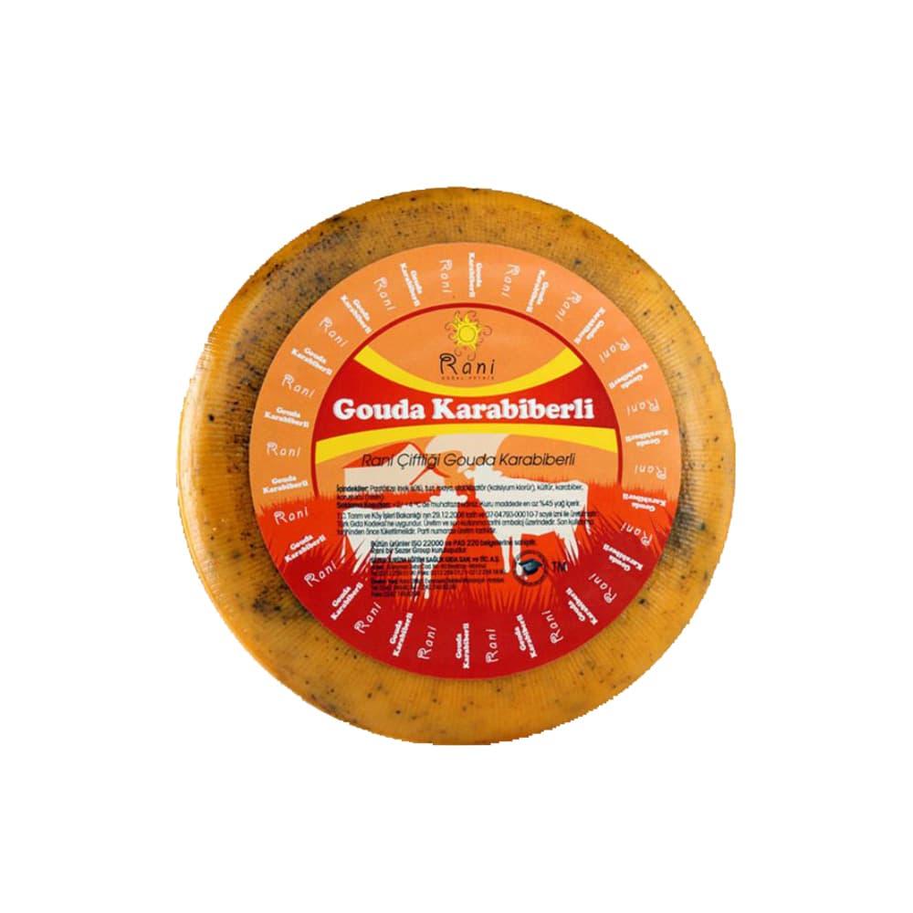 Rani Çiftliği Gouda Karabiberli Peynir 300 gr ürünü