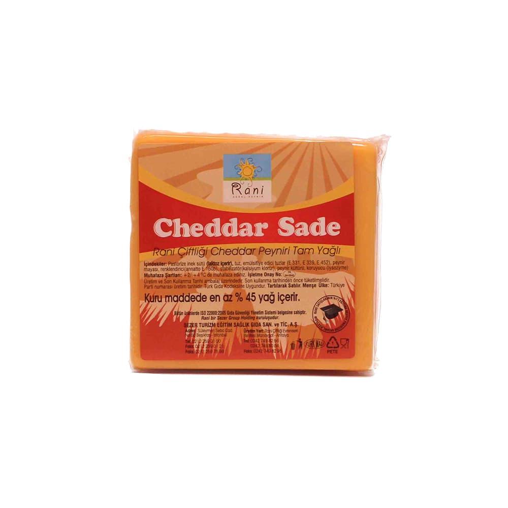 Rani Çiftliği Cheddar Peyniri 300 gr ürünü