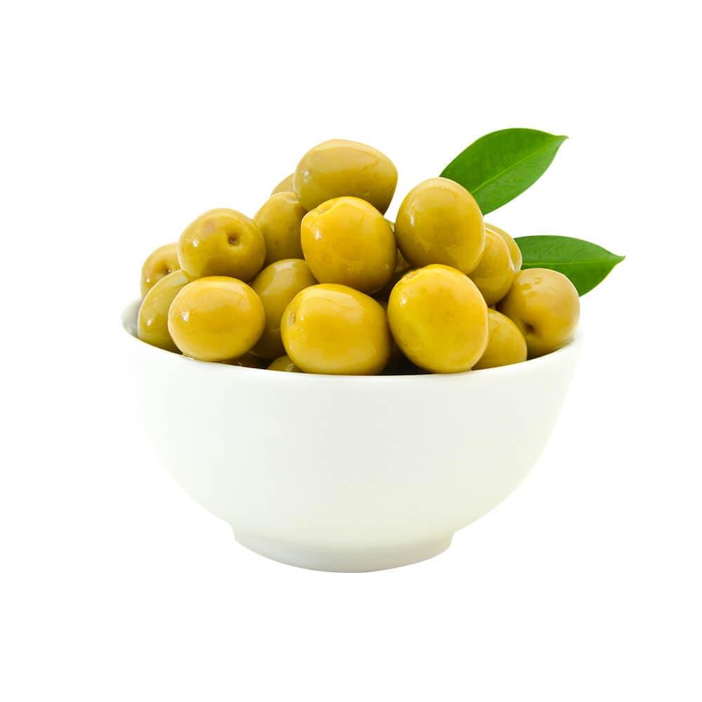 Yöre Domat Kokteyl Süper Yeşil Zeytin Cam Kavanoz 550 gr (161-180 Kalibre) ürünü