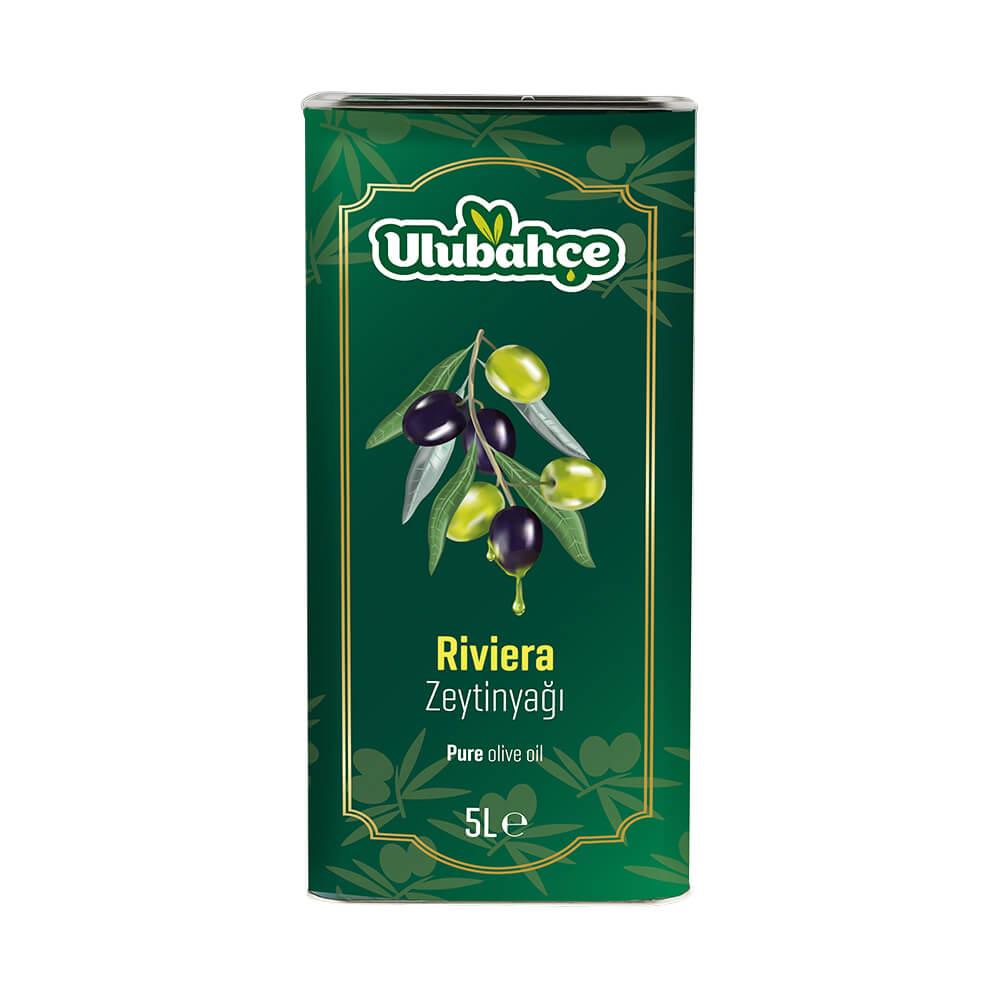 Ulubahçe Riviera Zeytinyağı 5 lt Teneke ürünü