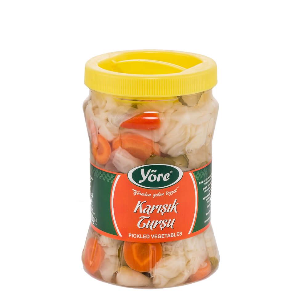 Yöre Karışık Turşu Pet 1 kg ürünü