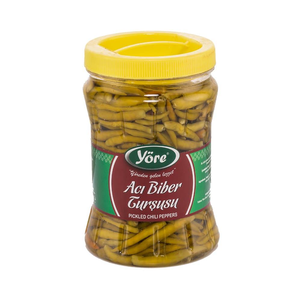 Yöre Acı Biber Turşusu 700 gr ürünü