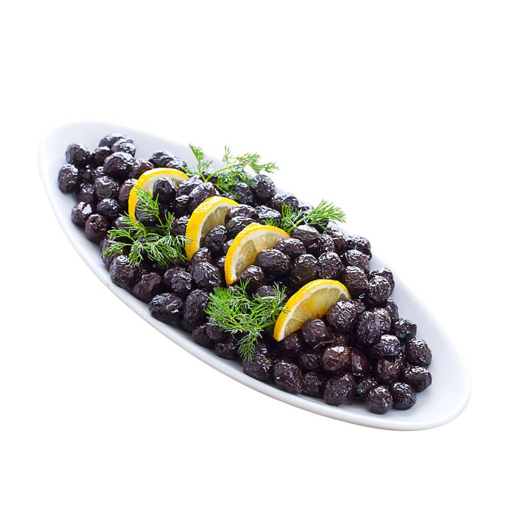 Yöre Gemlik Doğal Sele Siyah Zeytin 750 gr Teneke (321-380 Kalibre) ürünü