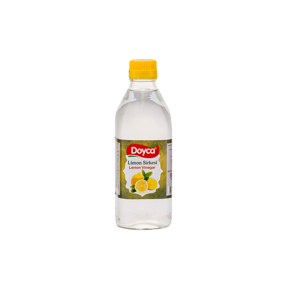 Doyca Limon Sirkesi 500 ml Cam Şişe ürünü