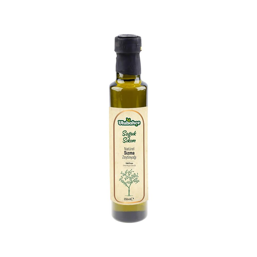 Ulubahçe Soğuk Sıkım Natürel Sızma Zeytinyağı 250 ml ürünü