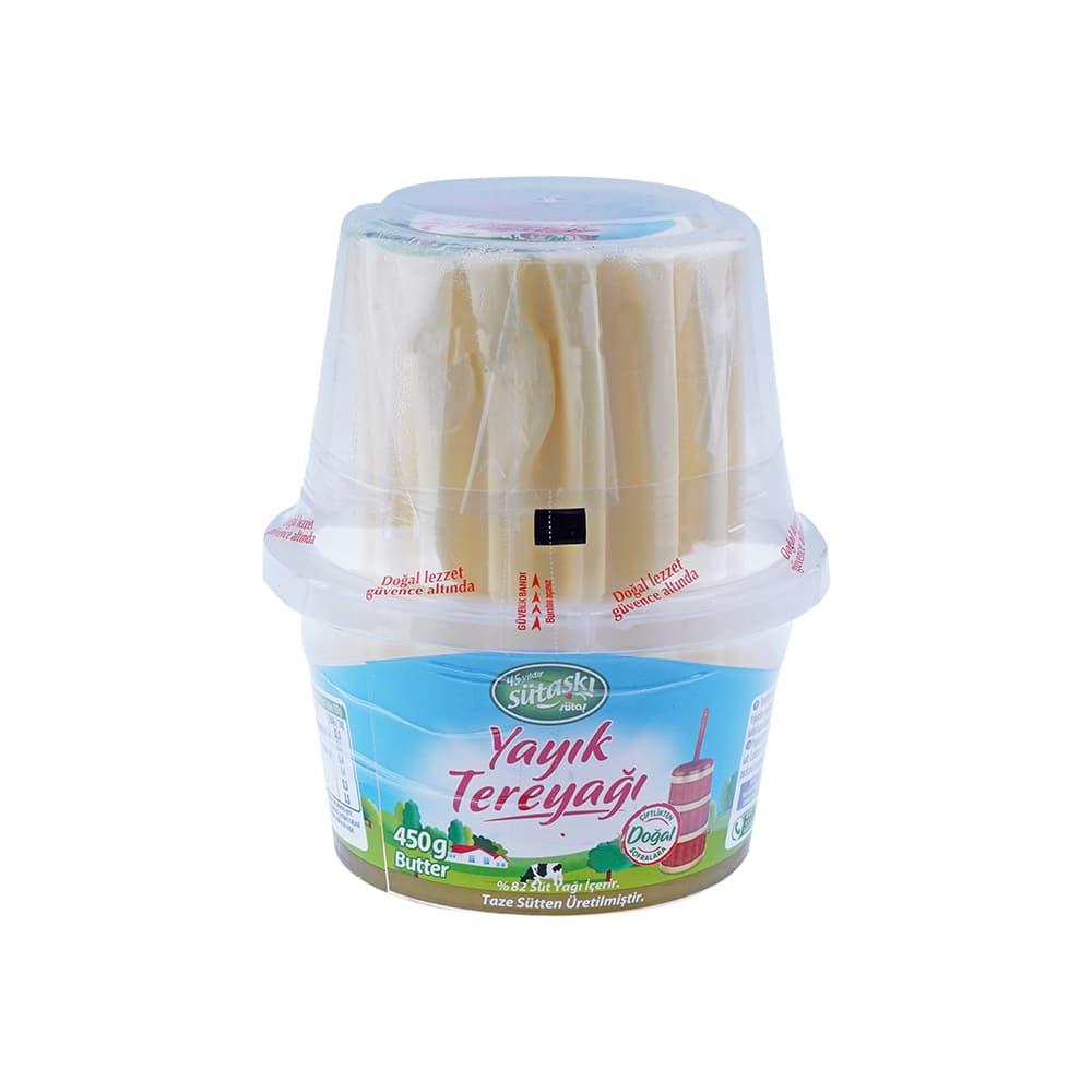 Sütaş Tuzsuz Tereyağı 450 gr ürünü