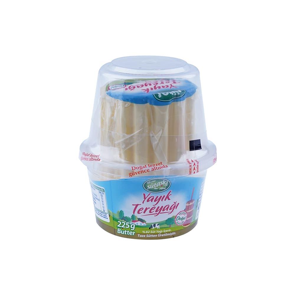 Sütaş Tuzsuz Tereyagı 225 gr ürünü