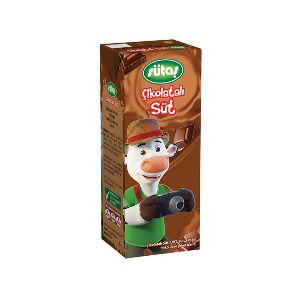 Sütaş Süt Çikolatalı 180 ml ürünü