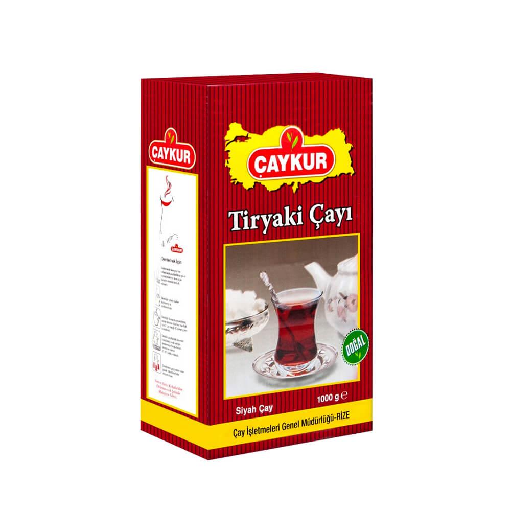 Çaykur Tiryaki Siyah Çay 1000 gr ürünü