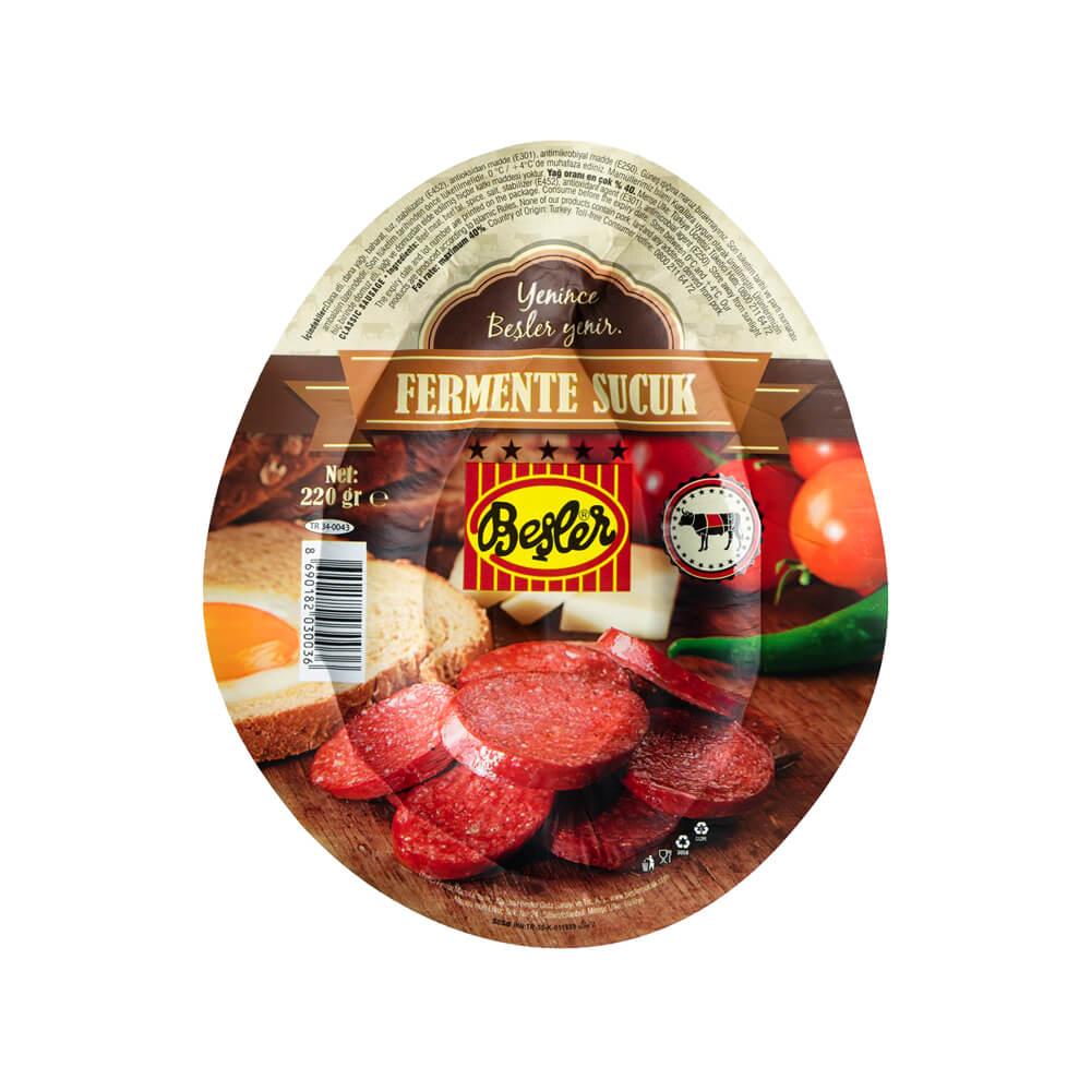 Beşler Fermente Kangal Sucuk 220 gr ürünü