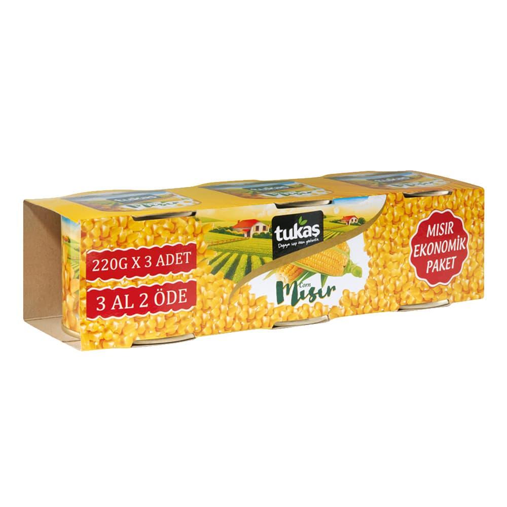 Tukaş Konserve Mısır 660 gr ürünü