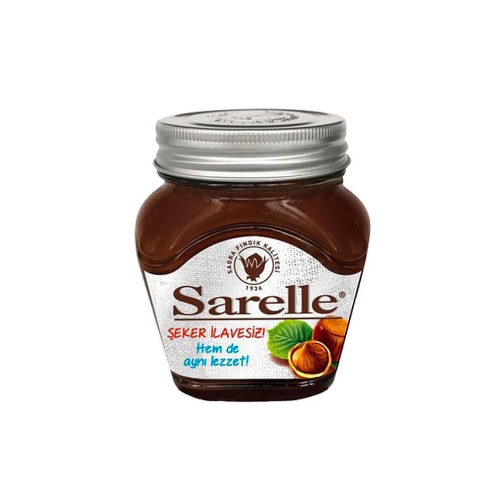 Sarelle Şekersiz Kakaolu Fındık Ezmesi 350 gr ürünü
