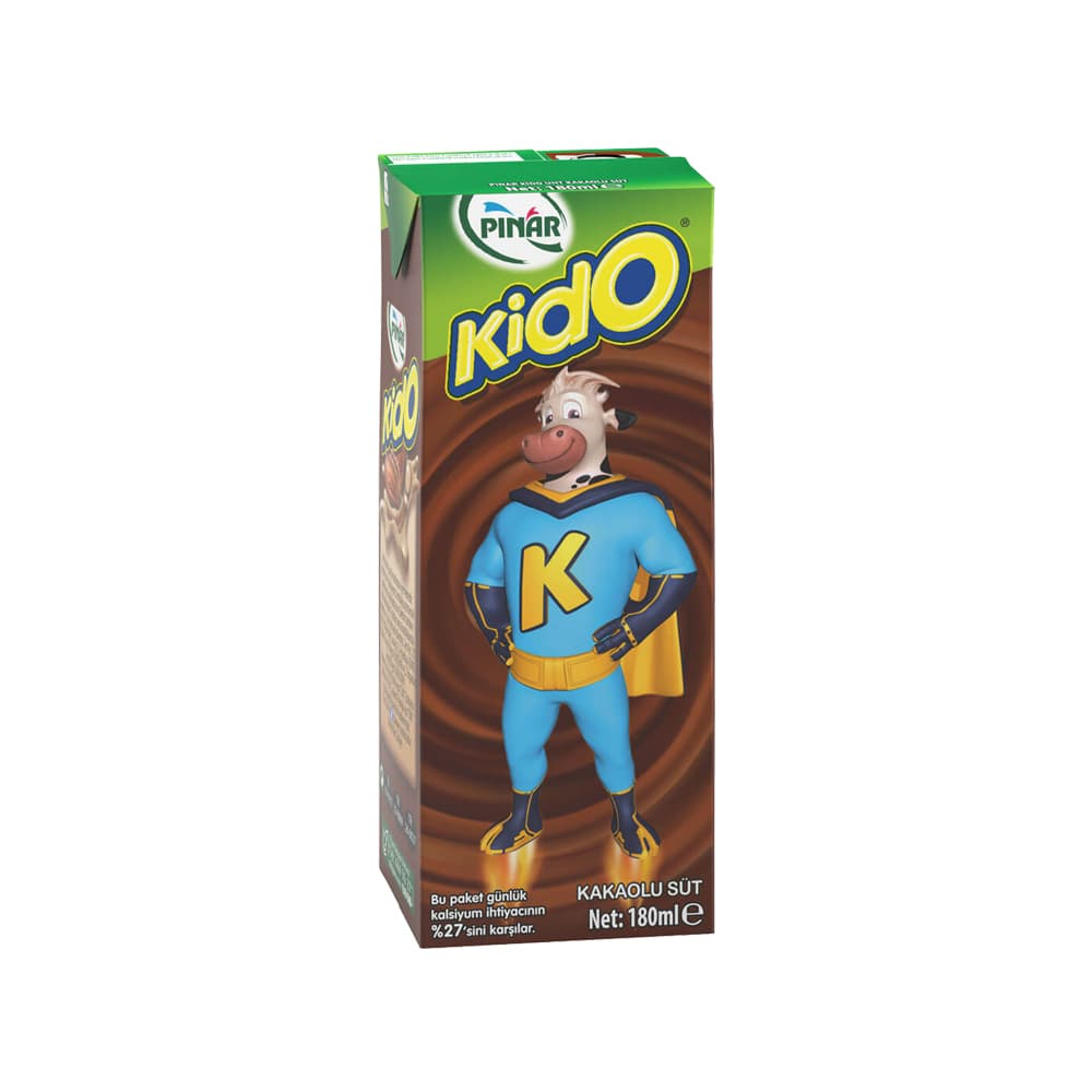 Pınar Kido Kakaolu Süt 180 ml ürünü