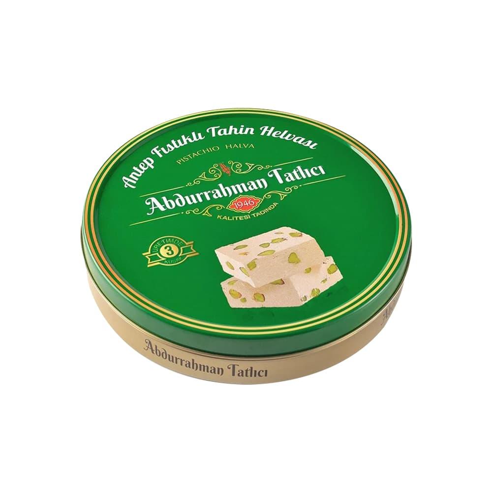 Abdurrahman Tatlıcı Antep Fıstıklı Tahin Helva 650 gr ürünü