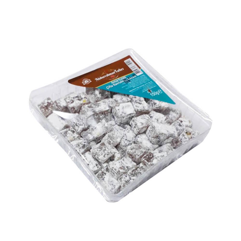 Abdurrahman Tatlıcı Çift Kavrulmuş Antep Fıstıklı Lokum 150 gr ürünü
