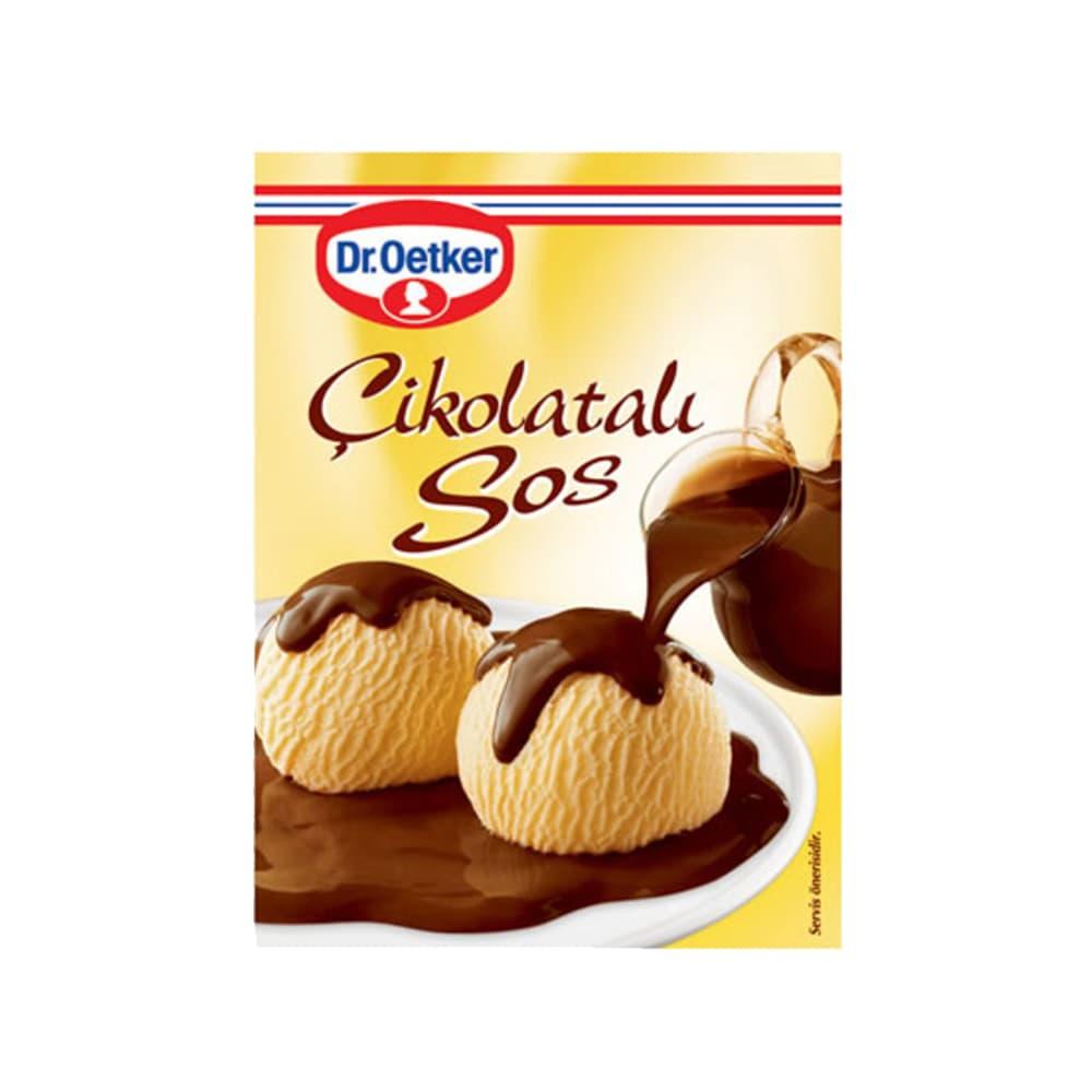Dr.Oetker Çikolata Sosu 128 gr ürünü