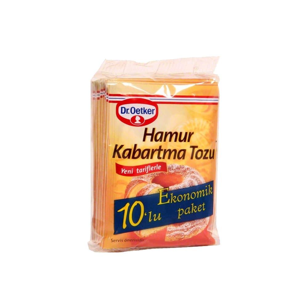 Dr.Oetker Hamur Kabartma Tozu 10'lu ürünü