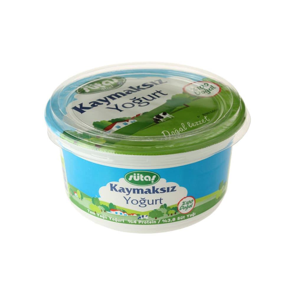 Sütaş Kaymaksız Yoğurt 500 gr ürünü