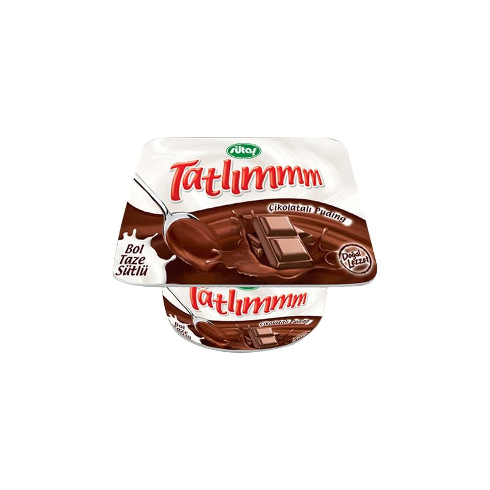 Sütaş Tatlım Çikolatalı Puding 50 gr ürünü