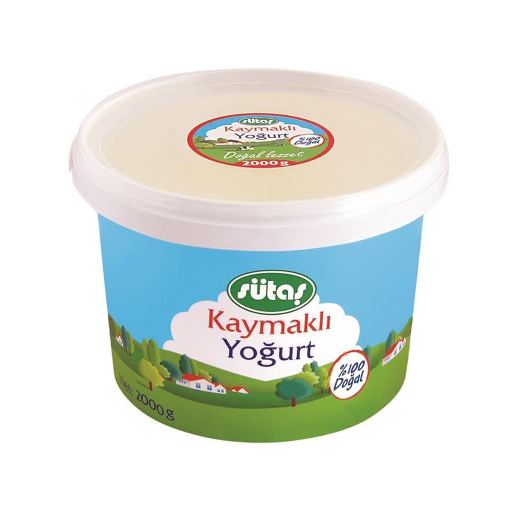 Sütaş Kaymaklı Yogurt 1750 gr ürünü