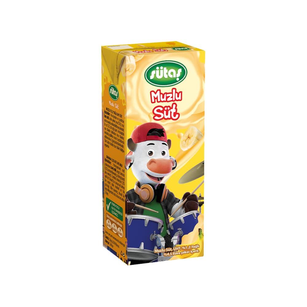 Sütaş Muzlu Süt 180 ml ürünü