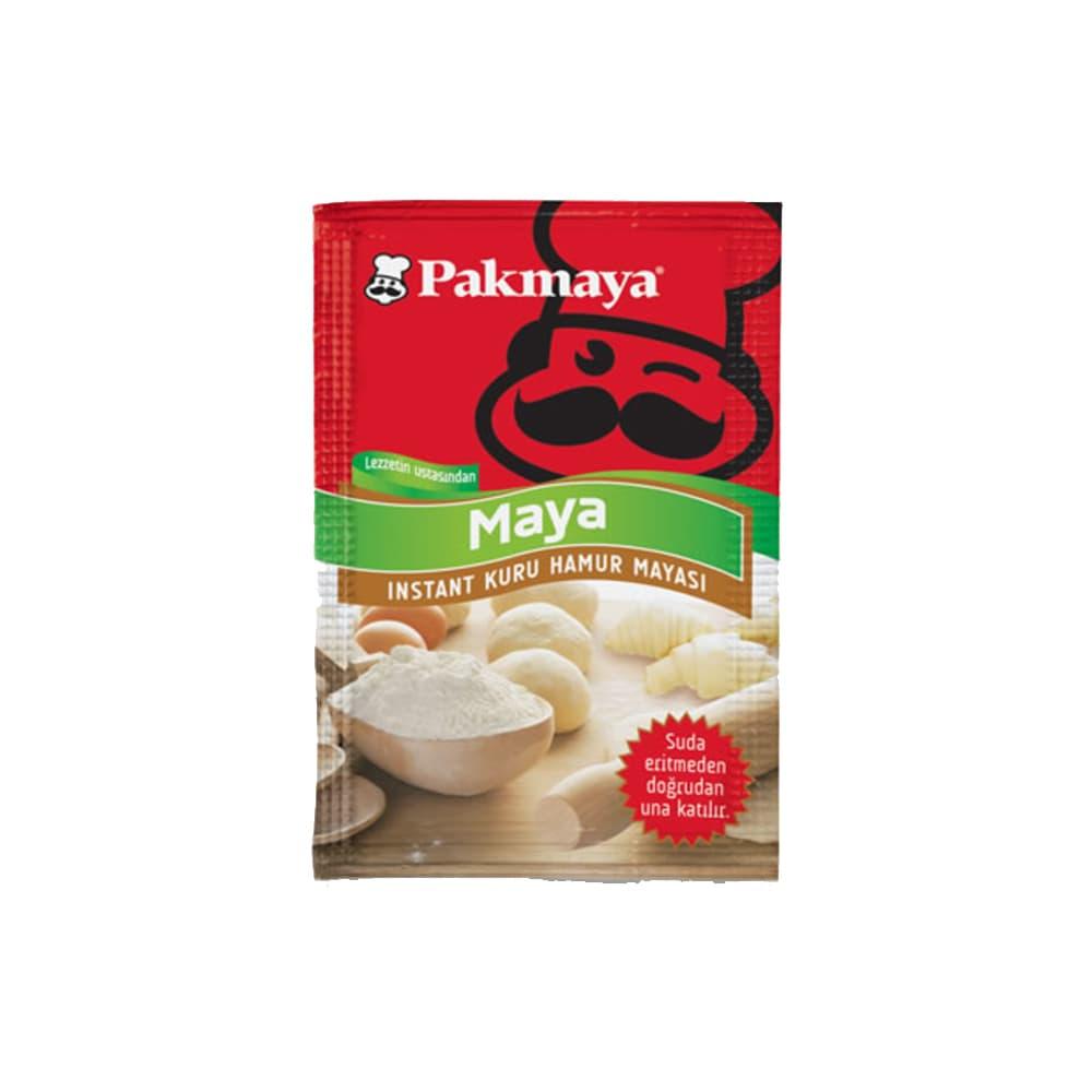 Pakmaya İnstant Kuru Maya 10 gr ürünü