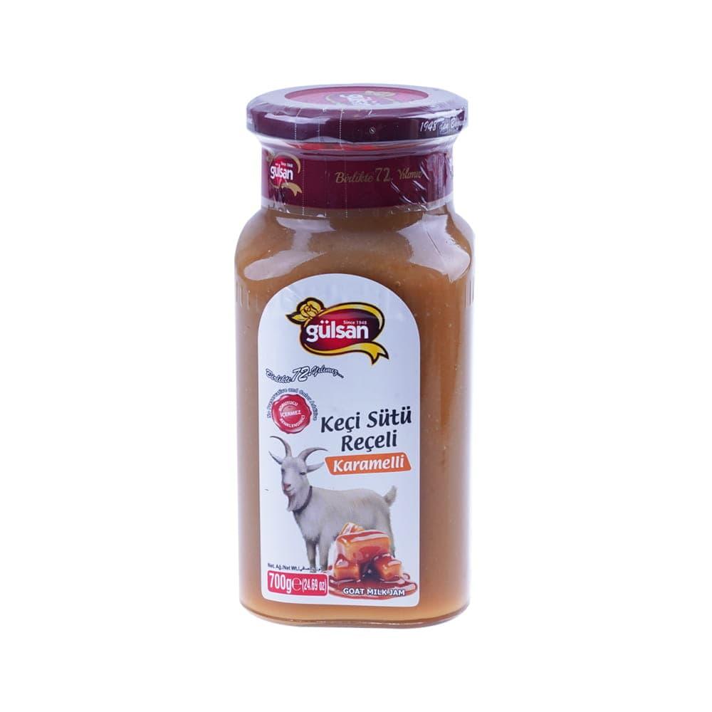 Gülsan Karamelli Keçi Sütü Reçeli 700 gr ürünü