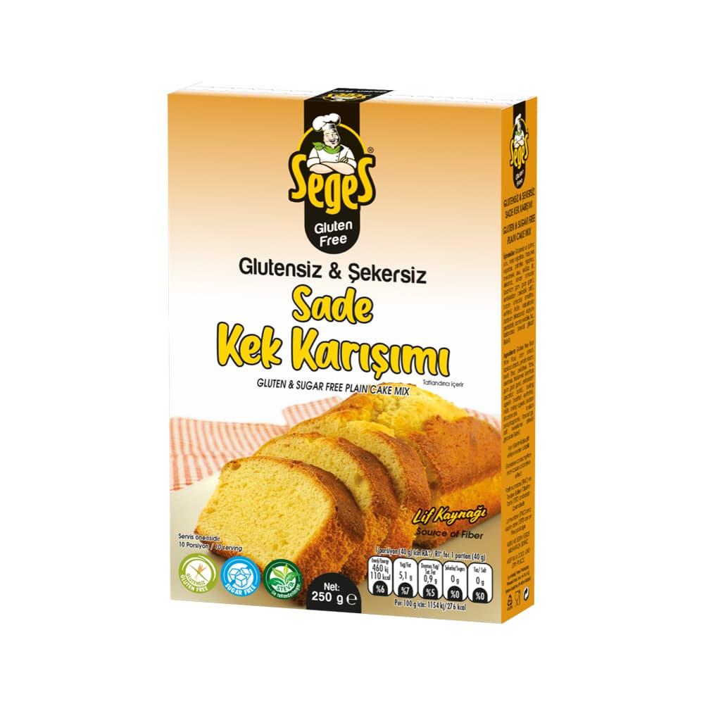 Seges Glutensiz Sade Kek Karışımı 250 gr ürünü