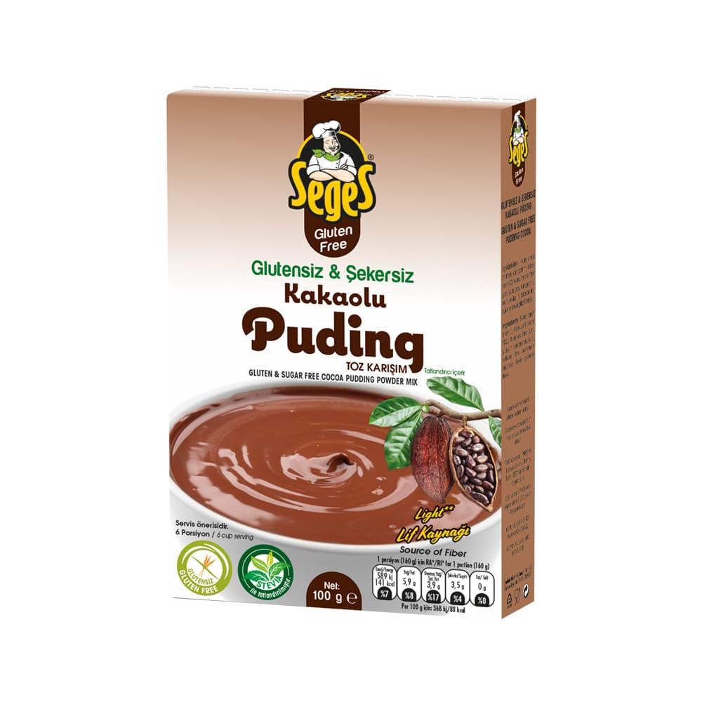 Seges Glutensiz Kakaolu Puding 100 gr ürünü