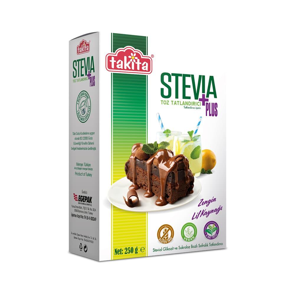 Takita Stevia Toz Tatlandırıcı 250 gr ürünü