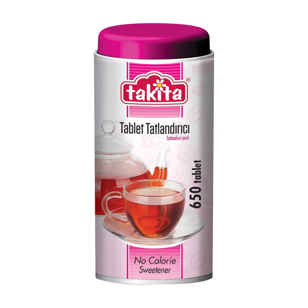 Takita Sakarinli Tablet Tatlandırıcı (650 tablet) ürünü