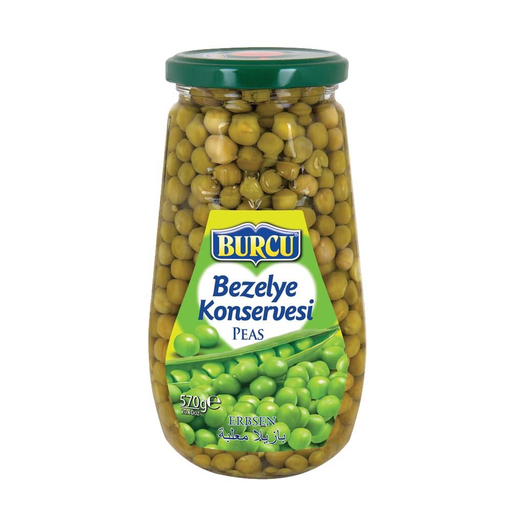 Burcu Bezelye Konservesi 570 gr ürünü
